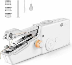 Portable Sewing Machine Quick Portable Cordless Hand Tool for Clothes $16.49