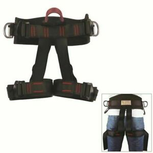 Half Body Safety Rock Climbing Rappelling Fall Protection Harness Belt Equip USA $19.99
