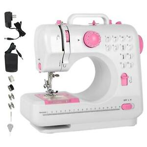 Mini Electric Household Crafting Mending Sewing Machines 12 Stitches 2 Speed $45.47