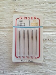 5 Vintage Singer Needles 2020 2045. NEW AND SEALED. $5.80