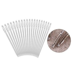 Hand Sewing Metal Hand Sewing Needles Large Eye Needle For Home Sewing $7.90