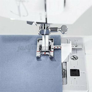 Adjustable Ruler Guide Sewing Machine Presser Foot 1 3#x27;#x27; 1 4#x27;#x27; IDT System $8.03
