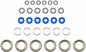 New Fel Pro Fuel Injector O Ring Kit Gas Seal Gasket ES73133 $27.55