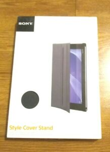 SONY SCR12 Style Cover Stand for XPERIA Z2 Tablet Black ***NEW*** $15.75