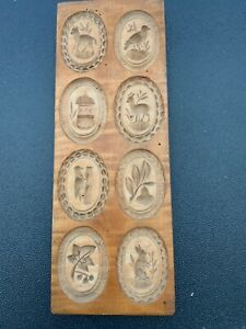 Antique Wooden Cookie Mold Gingerbread $100.00