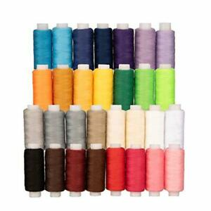 All Purpose Quilting Thread 30 Spools Polyester Sewing Thread Sets for Quilti... $25.28