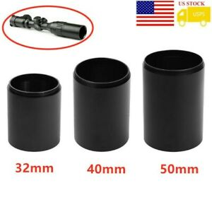 32 40 50mm Objective Len New Tactical Alloy Sunshade Tube Shade For Rifle scope $8.99