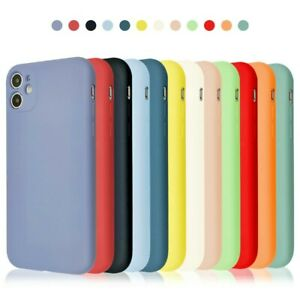 For iPhone XR 12 11 Pro Max XS X 8 7 6 Plus SE 2 Shockproof Silicone Case Cover $1.83