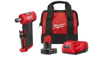 Milwaukee 2485 20 M12 FUEL™ 1 4quot; Right Angle Die Grinder w Starter Kit $199.00