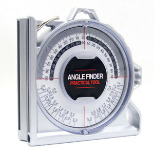 Magnetic Angle Finder Inclinometer Protractor Locator Measuring Device $16.99