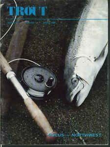 TROUT Northwest Trophy Trout Puget Sound Salmon Columbia River Winter 1981