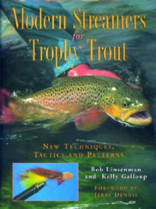 Linsenman Bob Modern Streamers For Trophy Trout BOOK NEW