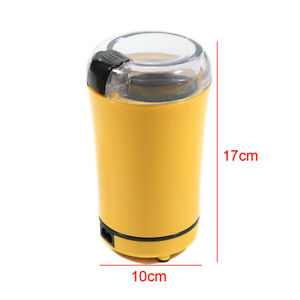 150W Electric Coffee Bean Grinder Stainless Steel Blades Cafe Spice Mill Blender