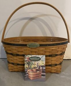 Longaberger 1995 Traditions Collection Family Basket Combo w Liner $50.00
