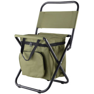 Small Camping Folding Chair Portable Lightweight Backpack Outdoor Waterproof