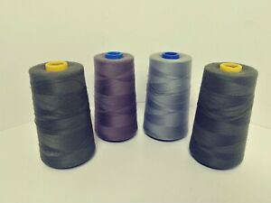 4 Lot Coats Epic Astra Sewing Cone Polyester Thread Soft Tex 40 Assorted Colors $12.60