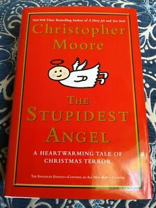 Stupidest Angel By Christopher Moore SIGNED hardcover $20.00