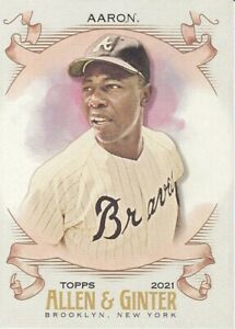 2021 Topps Allen Ginter #1 150 Complete Your Set $0.99