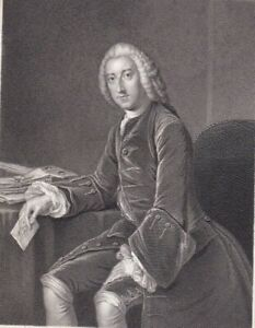 1850 Antique Portraits William Pitt Earl of Chatham; William Pitt the Younger $12.00