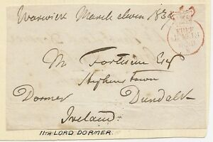 GB 1839 FREE Crown hs code M FRONT to Ireland $15.00