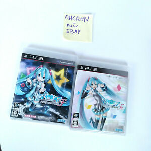 PS3 GAME LOT HATSUNE MIKU DIVA F AND DIVA F2ND TWO GAMES JAPAN VERSIONS $40.00