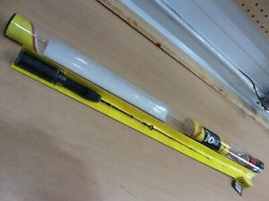 NORTHLAND HAYMAKER 24 inch CARBON SERIES spinning ice rod BLACK