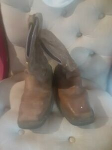 Womens justin work boots 9.5
