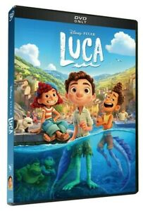 Luca Disney Pixar DVD 2021 New amp; Sealed Choose Your Shipping Speed Service $8.49