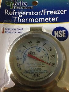 USA SELLER  REFRIGERATOR/FREEZER THERMOMETER FREE SHIPPING US ONLY