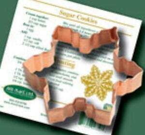 SNOWFLAKE COPPER COOKIE CUTTER By Ann Clark MADE IN THE USA!
