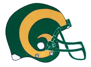 Large Colorado State Rams 12quot; Helmet Window Cling NCAA College Football Sports $9.25