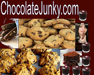 Chocolate Junky .com Holiday Milk Chocolate Milky Candy Store Domain Cookies URL