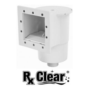 Rx Clear Standard Thru Wall Skimmer w Return Fitting for Above Ground Pools