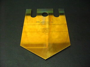 Steelcraft Tool Co. High Speed Coated Steel Cut Off Blades EC12 5 $80.00