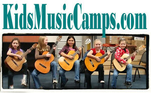 Kids Music Camps .com  Guitar Trombone Trumpet Learn Songs Kids Sing Domain Name