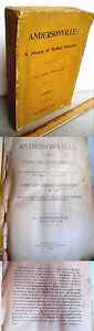ANDERSONVILLE; A STORY Of REBEL MILITARY PRISONS1899John McElroyIllust $35.00