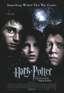 HARRY POTTER AND THE PRISONER OF AZKABAN MOVIE POSTER REGULAR 27quot; X 40quot;