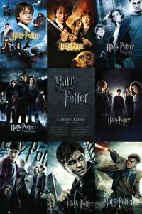 HARRY POTTER 1 7 MOVIE POSTER MOVIE POSTER CHECKLIST SIZE: 24quot; X 36quot;