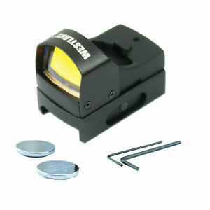 Mini Holographic Reflex Micro 3 MOA Red Dot Sight with Picatinny Weaver Mount