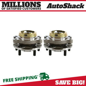 Front Wheel Hub Bearing Assembly Pair 2 for 2007 2011 2012 Nissan Altima 2.5L $70.85