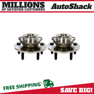 Front Wheel Hub Bearing Assembly Pair 2 for 2002 2008 Dodge Ram 1500 5.9L 8.3L $67.02