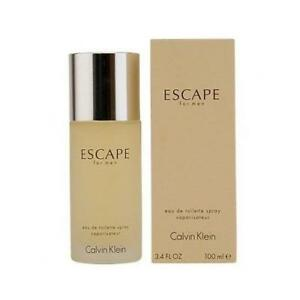 Escape by Calvin Klein 3.4 oz EDT Cologne for Men New In Box $20.09