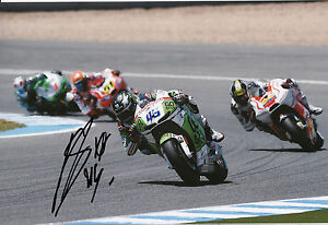 Scott Redding Hand Signed GO&FUN Honda Gresini 12x8 Photo 2014 MotoGP 2.