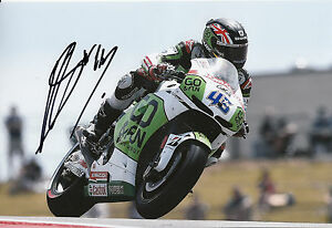 Scott Redding Hand Signed GO&FUN Honda Gresini 12x8 Photo 2014 MotoGP 4.