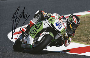 Scott Redding Hand Signed GO&FUN Honda Gresini 12x8 Photo 2014 MotoGP 5.