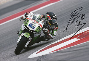 Scott Redding Hand Signed GO&FUN Honda Gresini 12x8 Photo 2014 MotoGP 11.