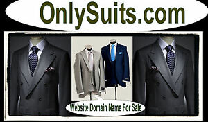 Only Suits .com  Real Estate agents  Bankers Business Mens  Suits Jackets Domain