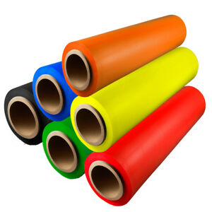 Hand Stretch Wrap Film Choose your Color Roll Size w Free Shipping