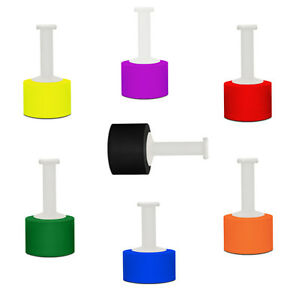 Hand Stretch Wrap Film Choose your Color Roll & Size + Free Dispenser