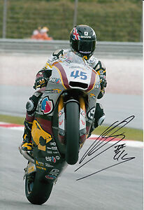 Scott Redding Hand Signed Marc VDS Racing 12x8 Photo Moto2 MotoGP 1.